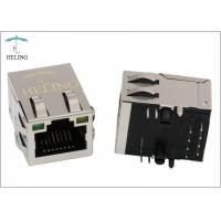 "1 x 1 Shielded RJ45 Magnetic Jack 30 U"" / 50 U"" Gold Plating Contact Terminal Manufactures"