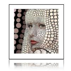 Modern 3D aluminum framed art picture for home decoration Manufactures
