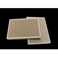 Porous Honeycomb Ceramic Infrared Gas Burner Plate For Oven , Customized Manufactures