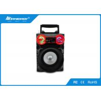 China Square Dance Outdoor LED Portable Speaker Wireless With USB AUX FM Radio on sale