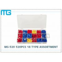 MG - 520 18 Types Terminal Assortment Kit SV BV Red Blue Yellow 520 pcs OEM / DEM Manufactures