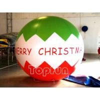 Christmas Advertising Inflatable Balloon 3M Diameter PVC For Promotion Manufactures