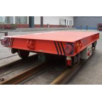 China Red Color 5 Ton Material Transfer Cart , Industrial Transfer Car For Warehouses on sale