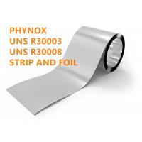 Cobalt Alloy Phynox Special Alloys For Medical UNS R30003 / R30008 Austenitic Cobalt Based Alloy Manufactures