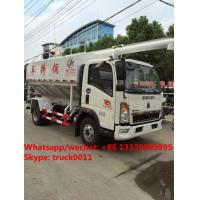 Quality Factory sale SINO TRUK HOWO LHD 12m3 farm-oriented animal feed truck, best price HOWO livestock and bulk feed vehicle for sale