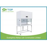 Vertical Laminar Flow Cabinet Hospital Lab Equipment With Side Glass Window Manufactures
