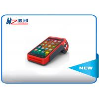Handheld POS Machine Android POS Terminal With Front Camera Satellite Positioning Manufactures