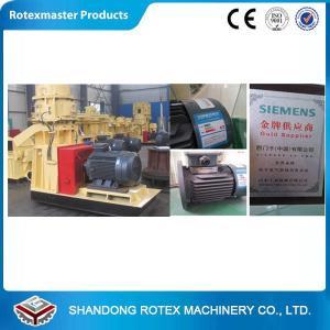 China CE Certified flat die wood pellet processing equipment with Siemens motor on sale