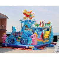 Buy cheap 0.55MM PVC Cheap Children Bouncy House Type Giant Commercial Inflatable Jumper from wholesalers