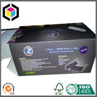 Matte Black Cardboard Packaging Box; CMYK Full Color Litho Print Packaging Box Manufactures
