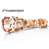 200 Meters High Range 5W CREE LED Torch XPE Q5 LED Torch Camouflage Color Flashlight Manufactures