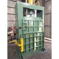 Quality SBT 60 tons hydraulic baling machine with three doors for recylced cotton fiber for sale