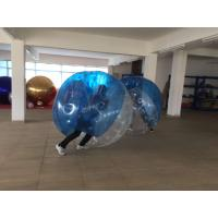 Quality Huge Inflatable Human Hamster Ball Transparent Reusable Flame Retardant for sale
