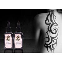 Quality Black Permanent Tattoo Ink 30ml / 1oz / Bottle Permanent Makeup Tattoo Ink for sale