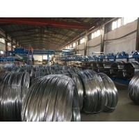 High Carbon Spring Steel Wire Black Oiled or Galvanized 1 . 0 mm Flexible Duct Manufactures