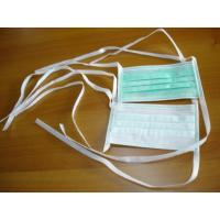 Quality Disposable Non-Woven Surgical Facemask With Earloop Active Carbon Facemask for sale