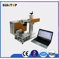 Rolling Pipe round tube laser marking machine customized long lifetime Manufactures