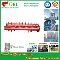 Industrial Steam CFB Boiler Header / Low Loss Headers Low Pressure Manufactures