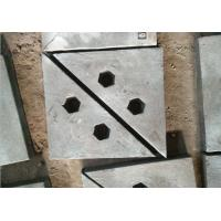 Chrome-Moly Steel triangle wear plates for crusher machine and ball mill Manufactures