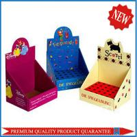 high quality corrugated display box package box with custom logo artwork print Manufactures