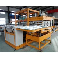 White Plastic Styrofoam Disposable Lunch Box Making Machine 170-200KW Manufactures