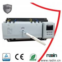 200 Amp Manual Transfer Switch 100A To 1250A With Auto Recovery Hotels 60Hz Manufactures
