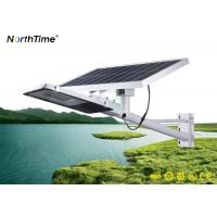 IP65 Remote Control Automatic Separate Outdoor Solar Street Lights 25W With LiFePO4 Battery Manufactures
