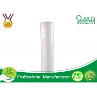Cast LLDPE Stretch Wrapping Film / Polyethylene PlasticShrink Stretch Film Jumbo Roll Manufactures