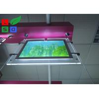 Thickness 10mm Crystal Display Light Box , Safe Power DC 12V LED Light Box Display Manufactures