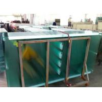 Flat 6mm Chemical Fully Tempered Safety Glass Partition / Tempered Frosted Glass for door Manufactures