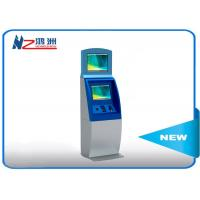 All In One Bill Accept SIM Card Dispenser Kiosk Ticketing Payment Windows 7/8/10 OS Manufactures