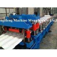 Quality 70mm Solid Shaft Sheet Metal Double Layer Roll Forming Machine Supporter Stacker for sale
