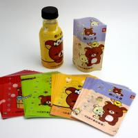 China High quality PVC heat shrink bottle sleeves/labels on sale