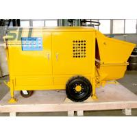 Easy Operation Small Shotcrete Pump For Grouting Pump Spraying 7-15 M3/H Output Manufactures
