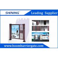 Entrance Automatic Swing Gate With LED Light For Apartment Entrance Advertising Manufactures