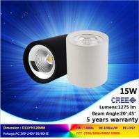 4000K 15W LED down light NEW ceiling lamp mounted CREE COB with 5 years  guarantee period Manufactures