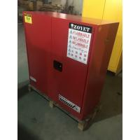 Flammable Vented Chemical Storage Cabinets For Combustible Liquid 30 gallon Manufactures