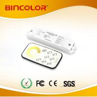 China Bincolor T2+R3 12v-24v  colot temperature circle touch remote led mini CT  touch dimmer on sale