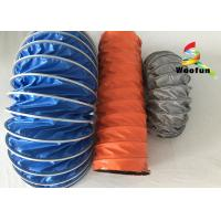 Waterproof Compressing High Temperature Flexible Duct PVC Small Bending Radius Manufactures