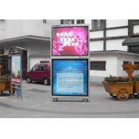 Full Color Outdoor LED Display Signs / P4 RGB LED Panel Waterproof 48 Bit Manufactures
