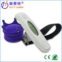 Travel weigh Portable digital Luggage Scale with Strap/Hook and Temperature/Time Display Manufactures