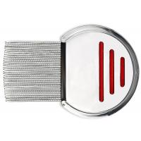 9.8CM Bule Red Dog Brush Comb Stainless Steel Screw Needle 3.7 * 2.7 Inch Manufactures