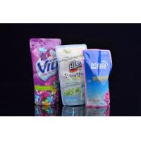 Customized Printing Washing Liquid  Stand Up Soft Plastic Packaging Bags Manufactures