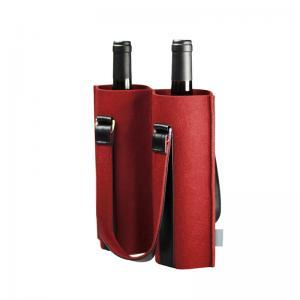 2 Pack Felt 170*360mm Wine Bottle Cooler Sleeve Manufactures