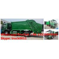 Factory customized HOWO 4*2 LHD/RHD 8m3/10m3/12m3/14m3 compression garbage truck for sale, garbage compactor truck Manufactures