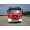 Buy cheap Sinotruk Six Seats Water Tanker Fire Truck Pump Flow 60L/S Aluminum Water Tank 5684L from wholesalers