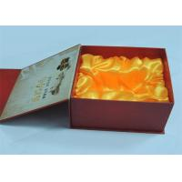 Electronic Products / Wine Printed Gift Boxes With Plastic Tray 250gram / 300gram Manufactures