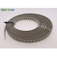 Construction Perforated Duct Hanger Strap  For Hanging Large Sized Pipes Manufactures