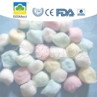 Hospital / Medical Sterile Cotton Wool Balls High Flexibility Eco - Friendly Manufactures