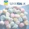Soft Touch Dental Cotton Balls , Disposable Coloured Cotton Wool Balls Manufactures
